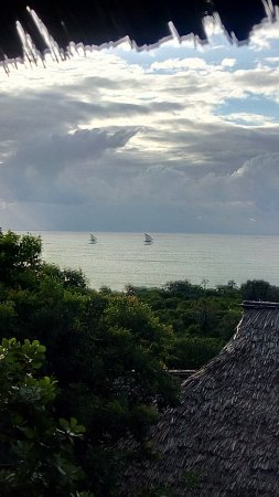 Changani Beach Cottages: great views