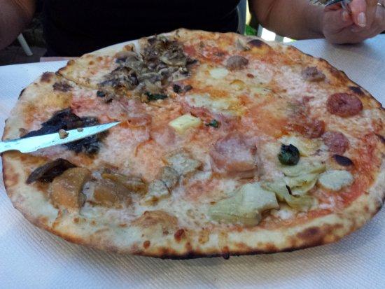 Casale sul Sile, İtalya: Pizza cento gusti