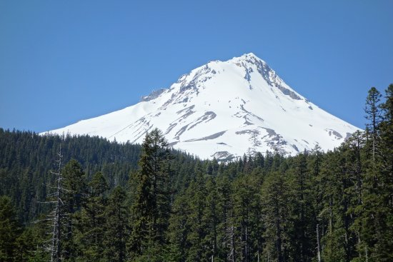Hood River, OR: Mount Hood from the road