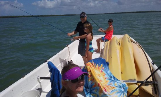 Marco Island Boat Tours: Private 10,000 Islands Family Beach, Fishing and Shelling Trip