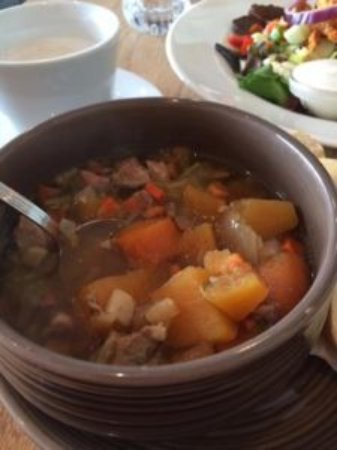 Kjötsúpa — Icelandic Lamb Soup. Perfect root veggies, broth and lamb.