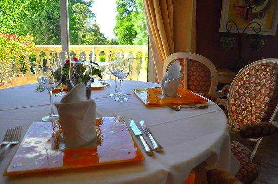 Margaux, Fransa: Salle de restaurant