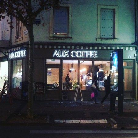 Alix coffee valence restaurant avis num ro de for Restaurant valence france