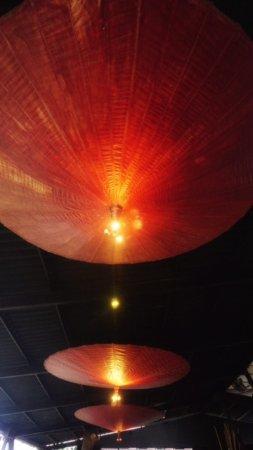 Nice Lamps nice lamps - picture of omah dhuwur restaurant, yogyakarta