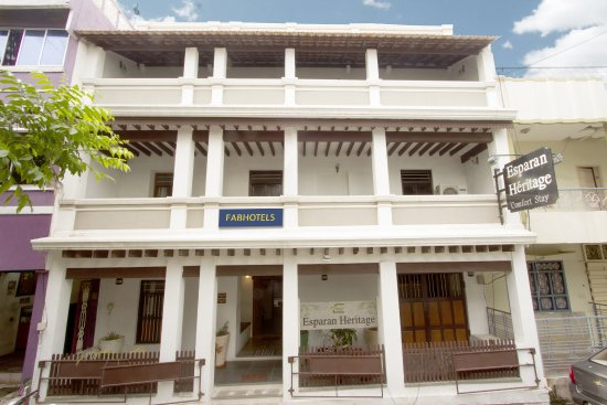 Heritage stay review of fabhotel esparan heritage pondicherry india tripadvisor for Cheap hotels in pondicherry with swimming pool