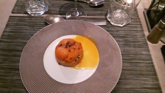 Lamorlaye, فرنسا: Fondant moelleux abricot et miel de lavande
