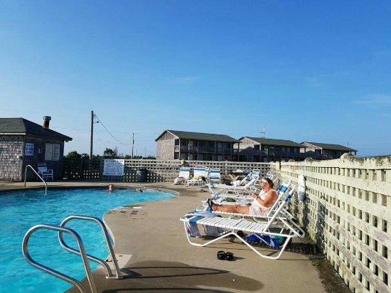 Cape Hatteras Motel: Suite soundside