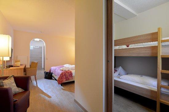 Hotel Christoph: 2-Raum-Zimmer mit Kinderzimmer