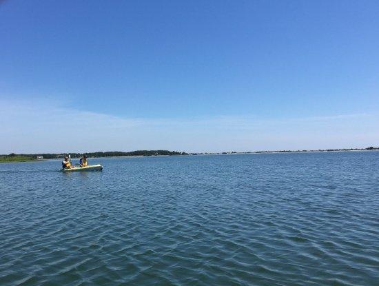 Oak Bluffs, MA : On Sengekontacket Pond off Joseph Sylvia State Beach