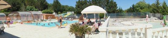 Vogue, França: piscines
