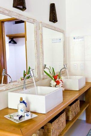 Pousada Quarto Crescente: Banheiro