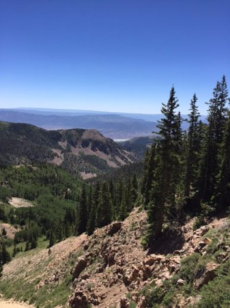 Marysvale, UT: View from the mountain top. Took 2 hours to get there but worth it
