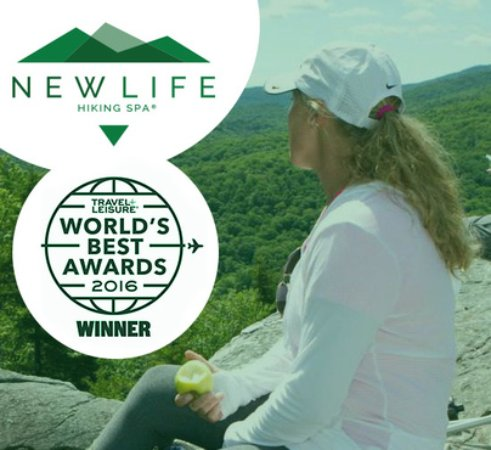 Mendon, VT: America's #1 Destination Spa by Travel + Leisure Magazine World's Best Awards 2016