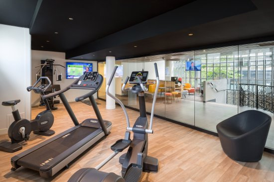 Salle De Fitness Picture Of Kyriad Hotel Paris Bercy Village