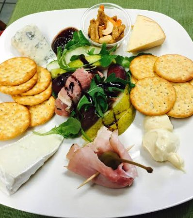 Saint Marks, FL: Denise's cheese plate