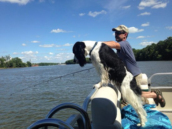 Starved Rock Adventures: Dogs welcome on the boats which is always a plus for us.