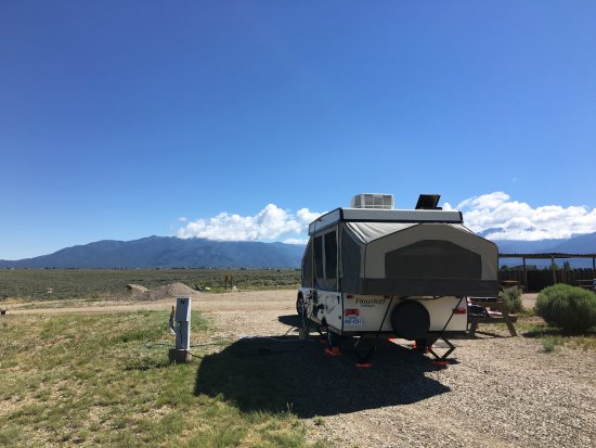 Taos monte bello rv park updated 2018 campground reviews for Cabins in taos nm