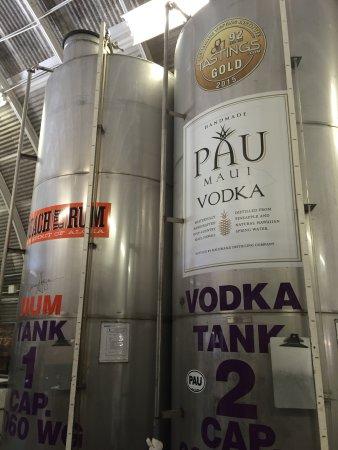 Makawao, Χαβάη: Distillery tour