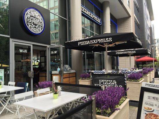 pizza express milton keynes 34 mortimer sq ristorante recensioni numero di telefono foto. Black Bedroom Furniture Sets. Home Design Ideas