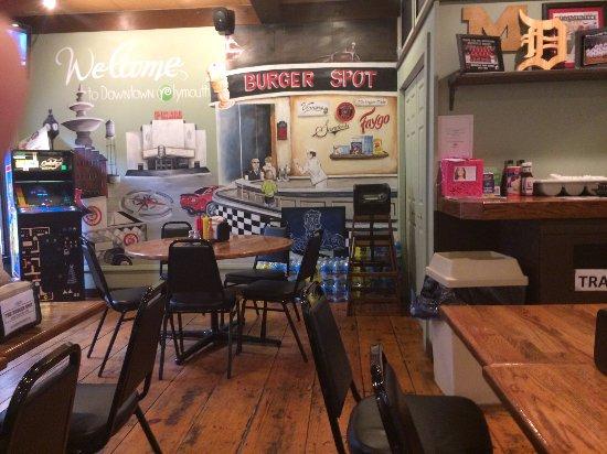 Plymouth, ميتشجان: Dining area corner