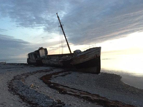 Port-Menier, Canada: Calou shipwreck
