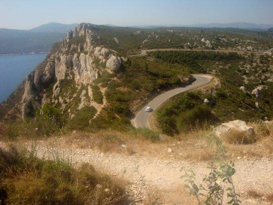 Provence, Prancis: Route des crêtes