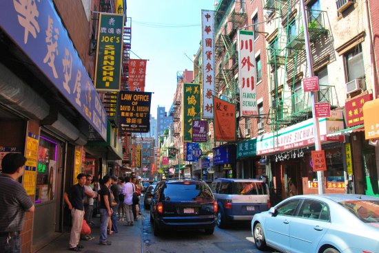 Greenwich Village Chinatown and Little Italy Picture of New York