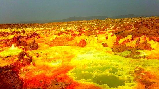 Afar Region, Etiopía: Sulphur springs