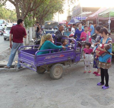 Turpan, Çin: Night market
