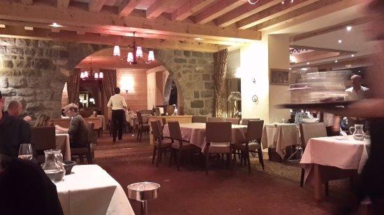 le restaurant de l\'hotel - Photo de Hotel Beauregard, La Clusaz ...