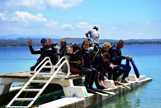 Pandan Island, Filipina: Diving