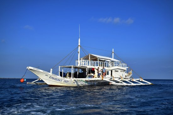 Pandan Island, Filipinas: Safari boat