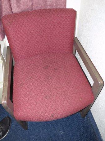 Saginaw, MI: Filthy chair