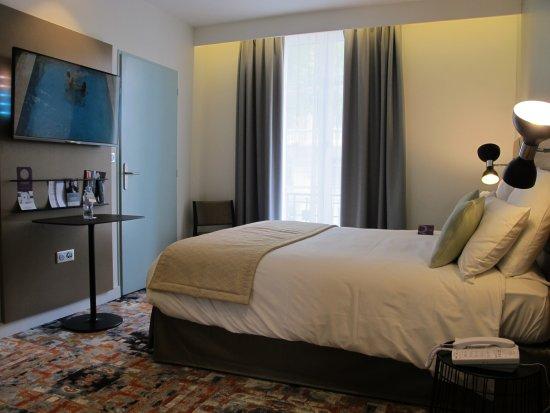 Mercure Lyon Centre Brotteaux : Nouvelle chambre- New room