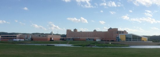 Treasure Island Resort & Casino: Treasure Island - Building Panorama - Back