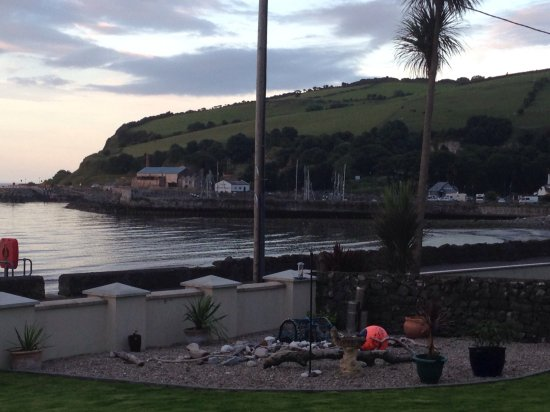 Glenarm, UK: Looking towards the marina