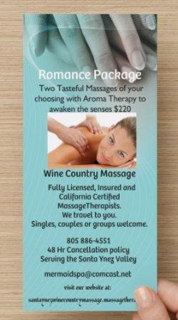 Santa Ynez, CA: romance package