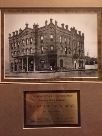 Fort Benton, MT: Historic photo and award