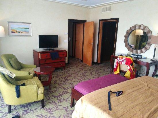 King Fahd Palace: Magnifico hotel