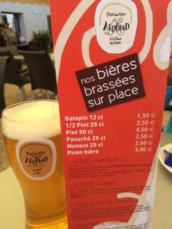 Vallouise, Frankrike: Brasserie des Freres Alphand