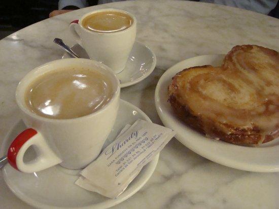 Lhardy : Café y palmera