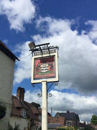 Selborne, UK: Inn Sign