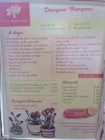 Casa Manzano Restaurante Photo