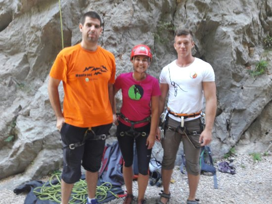 Starigrad-Paklenica, Croatie : Great day with climbing