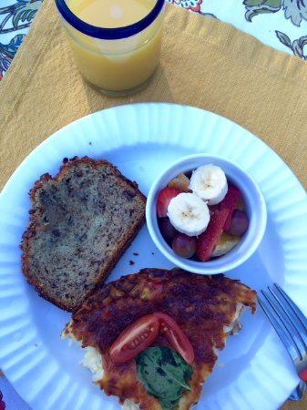 Castle Valley Inn: Delicious and plentiful breakfast - everything homemade:)