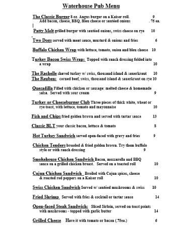 Lake Luzerne, NY: Menu - Page 3