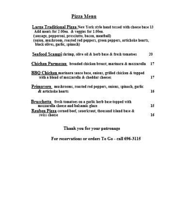 Lake Luzerne, นิวยอร์ก: Menu - Page 4