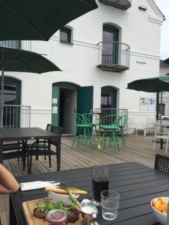 Assens, Danmark: Super hyggelig sted ved havnen.