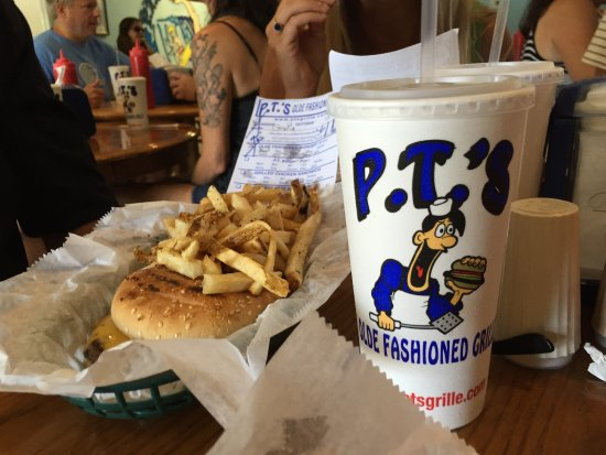 PT's  Olde Fashioned Grille: A