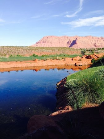 The Inn at Entrada : View from room, outside patio
